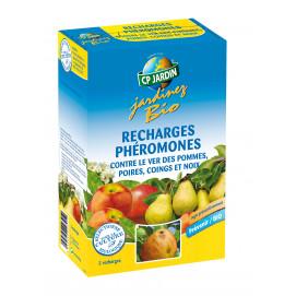 2 recharges pour piège à phéromone contre le ver des pommes et poires
