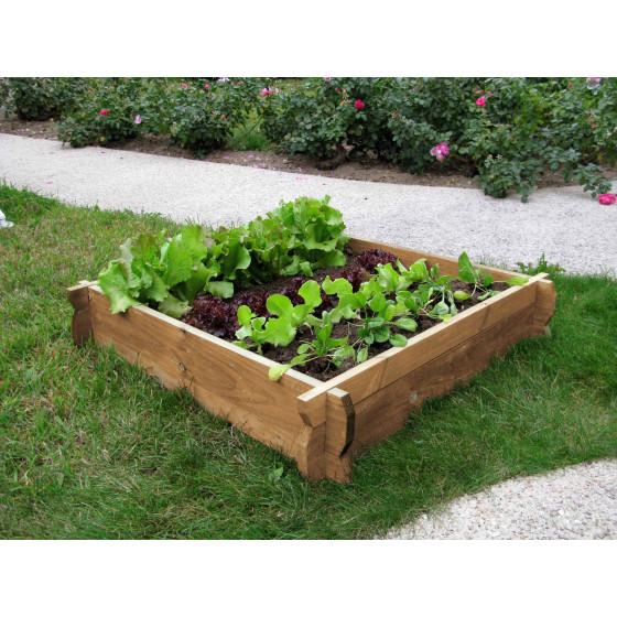 votre carr potager en bois non trait h22cm sur jardin et. Black Bedroom Furniture Sets. Home Design Ideas