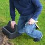 Repose genoux jardin multifonction
