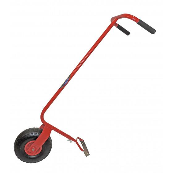Houe maraichère à pousser 1 roue avec grattoir