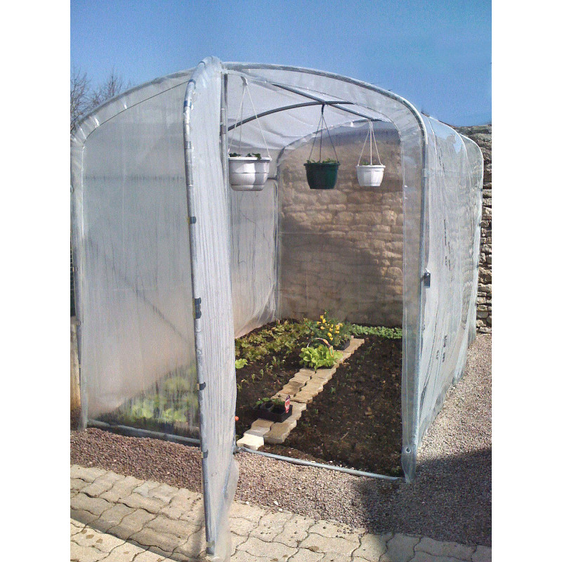 jardin et saisons propose sa serre de jardin 2 x 3 m. Black Bedroom Furniture Sets. Home Design Ideas