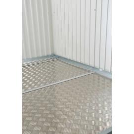Plancher en aluminium pour abri de jardin metal 3,3 m2 BIOHORT