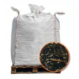 paillage du potager big bag 500 litres