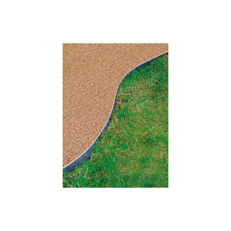 Votre bordure de jardin en acier galvanis h 14 cm jardin for Bordure jardin metallique