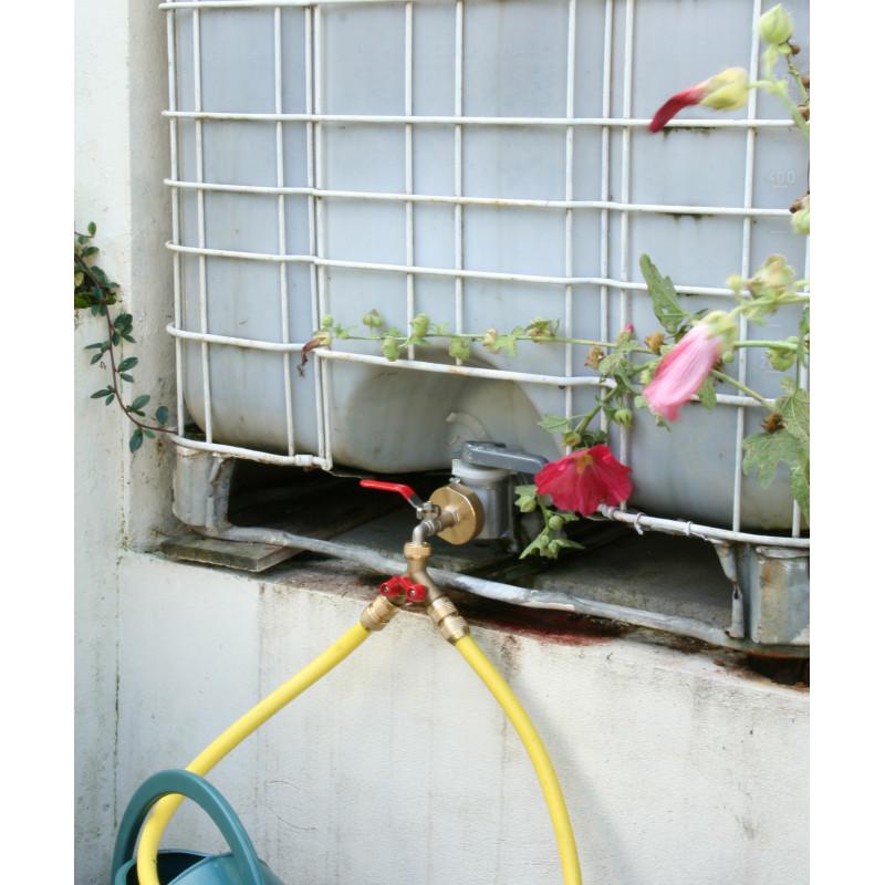 accessoires de récupérateur d'eau de pluie jardin et saisons - Robinet Pour Recuperateur D Eau De Pluie