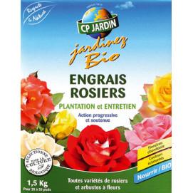 Engrais rosier et arbuste à fleurs 1,5 kg