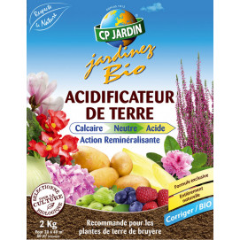 Acidificateur de terre 2 kg