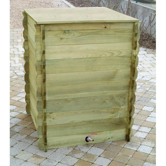 r serve d 39 eau de pluie en bois 600 litres. Black Bedroom Furniture Sets. Home Design Ideas
