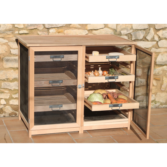 buffet garde manger l gumier fruitier jardin et saisons. Black Bedroom Furniture Sets. Home Design Ideas
