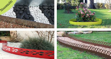 Nouveautés dans la gamme bordure de jardin