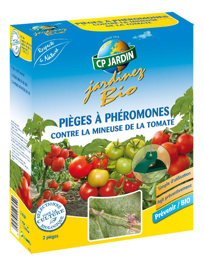 Piège à phéromones contre la mineuse de la tomate